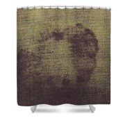 Face Of Jesus Shower Curtain