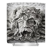 Father Time 2 Shower Curtain