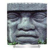 Face On Bali Shower Curtain