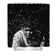 Face Splash Shower Curtain