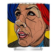 Face The Sun Shower Curtain