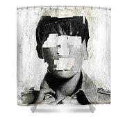 Faceless No 02 Shower Curtain