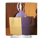 Faces 6 Shower Curtain