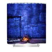 Faces In The Foam. Gary Indiana Shower Curtain