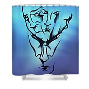 Faces Shower Curtain