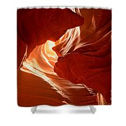 Faces Of Light Shower Curtain