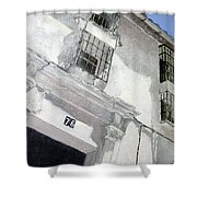 Fachada Andaluza Shower Curtain