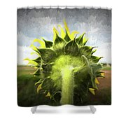 Facing Tomorrow - #2 Shower Curtain