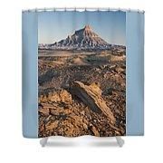 Factory Butte 0768 Shower Curtain