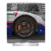 Factory Five Racing Car Shower Curtain