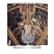 Faded Chandelier  Shower Curtain
