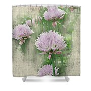 Faded Floral 11 Shower Curtain
