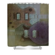 Faded Glory - Les Paul Shower Curtain