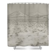 Faded Storm Shower Curtain