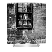 Faded With Time II B-w Shower Curtain