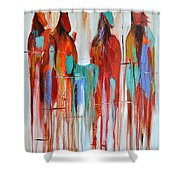 Fading Away 2 Shower Curtain