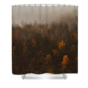Fading Fall Colors I Shower Curtain