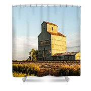 Fading Grains  Shower Curtain