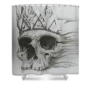 Fading King Shower Curtain
