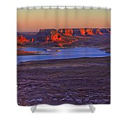 Fading Light Shower Curtain by Chad Dutson