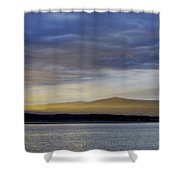 Fading Light  Shower Curtain