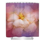 Fading Summer Flower Shower Curtain