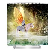 Fae In The Forest Shower Curtain