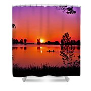 Fair Haven Sunset Shower Curtain