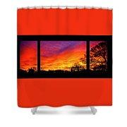 Fair Oaks Sunset Shower Curtain