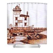 Fair Port Harbor Shower Curtain