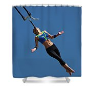 Fair Stunt Shower Curtain