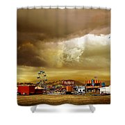 Fair Weather Shower Curtain