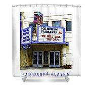 Fairbanks - Alaska Shower Curtain