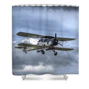 Fairey Swordfish II Ls326 Shower Curtain
