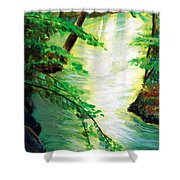 Fairfax Summer Shower Curtain
