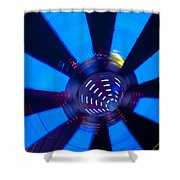 Fairground Abstract Vi Shower Curtain