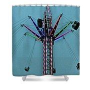 Fairground Star Shower Curtain