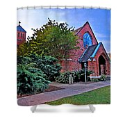 Fairhope Alabama Methodist Church Shower Curtain