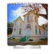 Fairhope Zion Church Shower Curtain