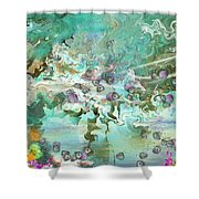 Fairie Garden Shower Curtain