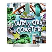 Fairly Odd Coaster Shower Curtain