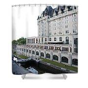 Fairmont Chateau Laurier - Ottawa Shower Curtain