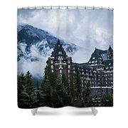 Fairmont Springs Hotel In Banff, Canada Shower Curtain