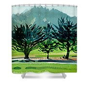 Fairway Junipers Shower Curtain