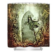 Fairy Cottage Shower Curtain