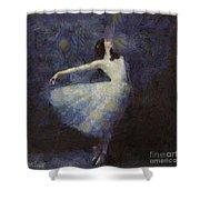 Fairy Dance Shower Curtain