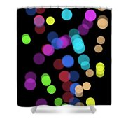 Fairy Dots Shower Curtain
