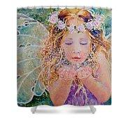 Fairy Dust Shower Curtain