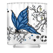 Fairy Fly Shower Curtain