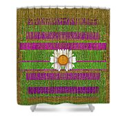 Fairy Forest In Gold Shower Curtain